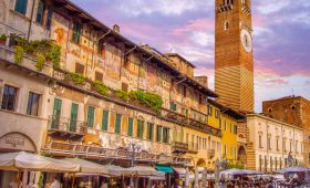 coach tour Verona