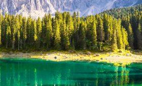Busreis Pink Dolomites west