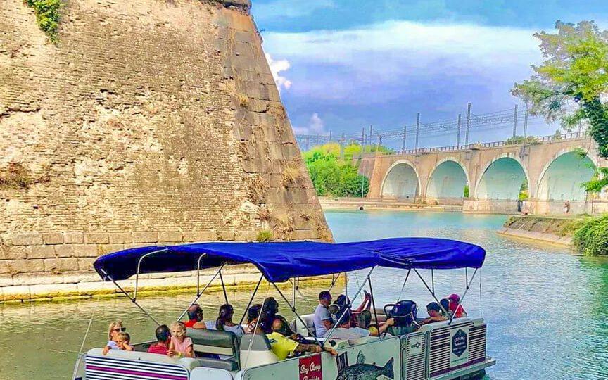 Activiteiten Peschiera Rondleiding door de Muren per boot