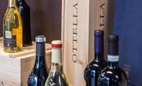 Tasting Lugana wines - Ottella winery