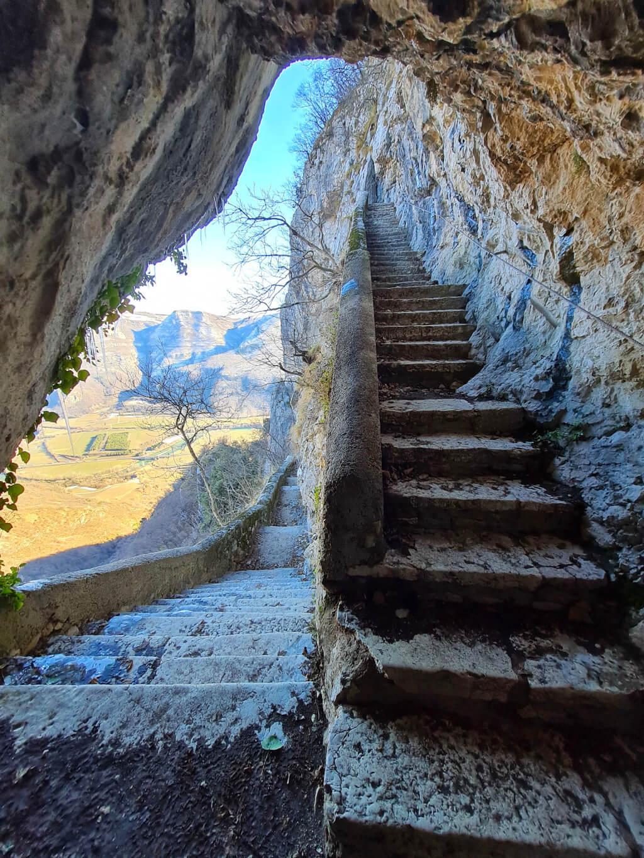 Madonna della Corona: somewhere between heaven and earth