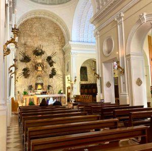The church - Madonna della Corona