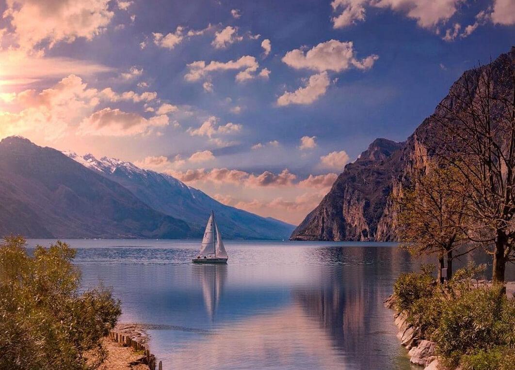 Lago di Garda da nord