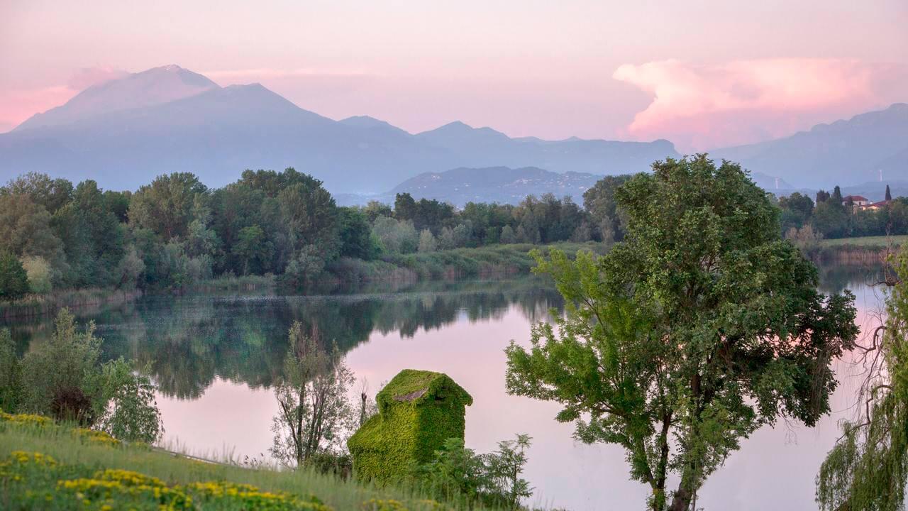 Frassino-lake