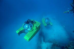 the Israeli underwater e-robot DSCVR36