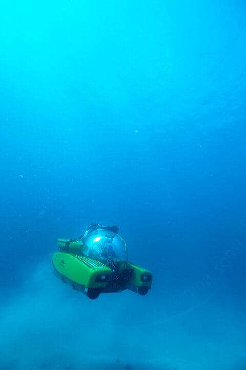 Israeli underwater e-robot DSCVR36