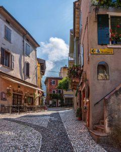 El centro histórico de Malcesine